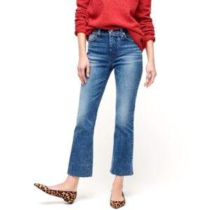 NWT JCREW Billie Demi Boot Crop Jeans 24 P NEW